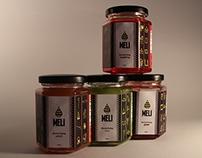Meli Flavored Honey | Packaging