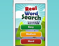 Real Word Search Game