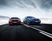 BMW M5 2017 Postproduction & CGI
