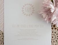 Pre-designed Wedding Stationery