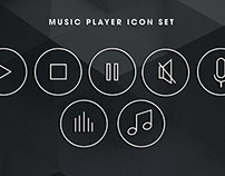 Music Player Icon Bundle