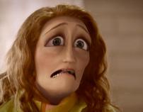 Tragic face tv spot