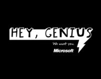 Microsoft : Hey Genius