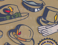 Illustration / Cover Design - Harry Hibbs Hat Company