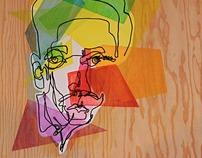 Blind Contour - Paint