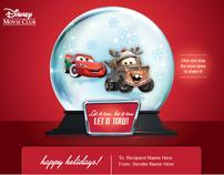 Disney Holiday E-Cards
