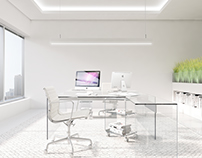 White Office, The Prime Tower at Business Bay, Dubai
