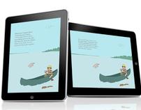 Children's iPad book