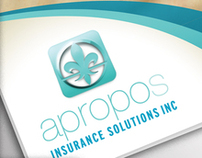 Apropos Insurance Solutions Tri-Fold Flyer Design