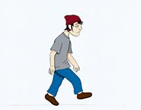 Animação stop motion: Skater Boy
