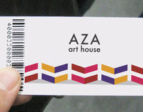 AZA Art House - Branding