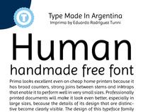 IMPRIMA - Free Google Web Font