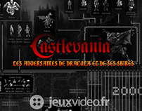 Infographics Castlevania