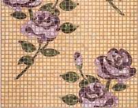 """Flora & Fauna"" mosaics for Sonite Innovative Surface"