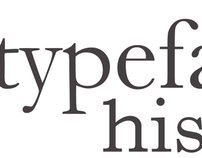 Typeface History Poster