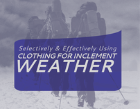 Clothing for Inclement Weather Brochure