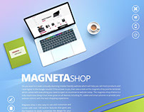 Magneta Shop Joomla Shopping Cart Template