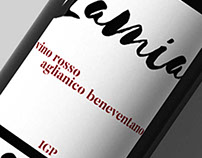 Wine label - Lamia