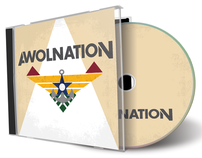 AWOLNATION CD Package