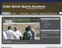 Cobb Saints Sports Academy Website