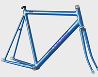 Cannondale Track 1992 frame