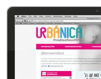 Web - Prodiseño 2012: Urbánica