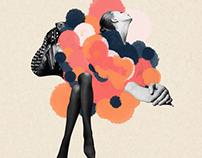 Third | Collage fashion illustrations