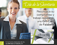 Falabella (Arg) - Email marketing Giftcard Corporativa