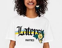 Pull&Bear graphic T-shirts