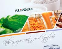 Alifood. Italian gourmet food supplier | Identity