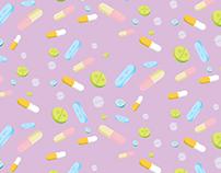 Hylian Pill Pattern