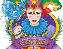 The Official Mardi Gras Logo