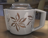 Shelby Teapot