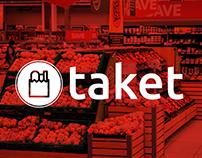 TAKET | Compras em supermercados sem sair de casa