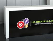 Logo: Lic. Erika de la Garza