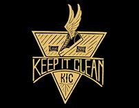 KIC ( Keep it clean) Logo Design