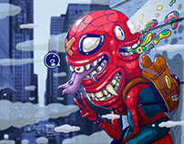 Spider-Man: Into the Ilustronauta-Verse