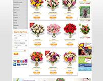 Online Flower Shopping Website