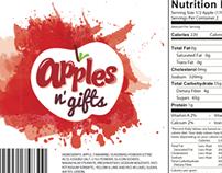 Apples N' Gifts: Etiqueta
