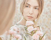 Portrait of model Karolina from Rebel Models