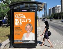 Alberta's NDP – Campaign Graphics