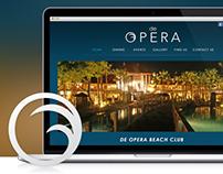 de Opera Logo & Web Design