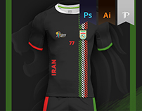Iran Home kit - Kabbadi World Cup 2016