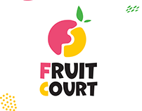 "Branding for ""Fruit Court"""