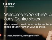 Deepblue Agency Launch New Sony Yorkshire Retail WebSit