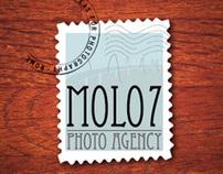 Molo7 Photo Agency, Logo & Web Design