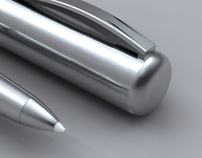 Stainless Steel diecast pen projector