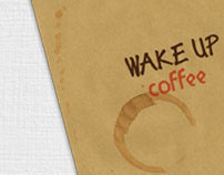 Wake Up Coffee - Corporate Identity