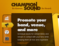 Champion Sound Redesign