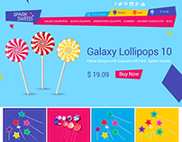 Sparko Sweets Responsive Template